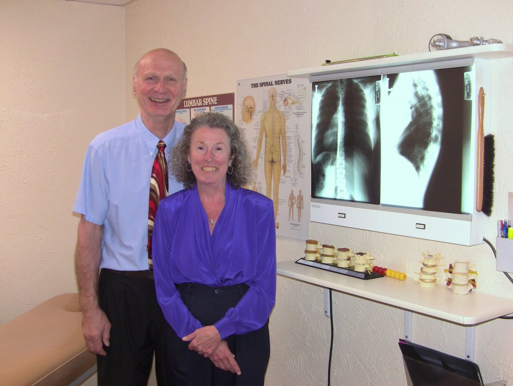Drs. Dennis Stepanovich and Virginia Beetham